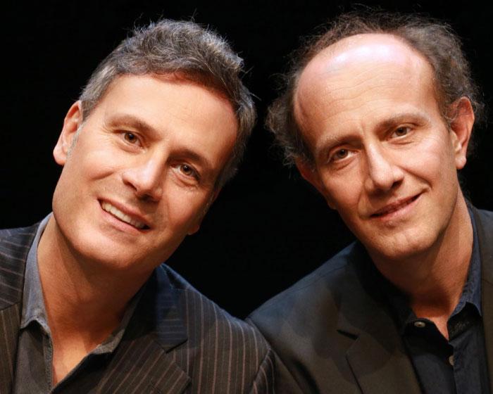 Al Teatro Nuovo Nel nostro piccolo: la comicità intelligente di Ale e Franz