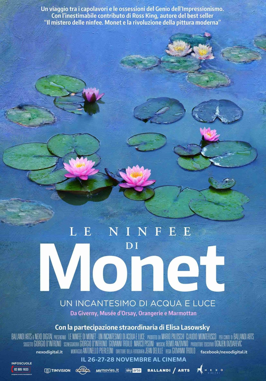 Le ninfee di Monet - Un incantesimo di acqua e luce al cinema
