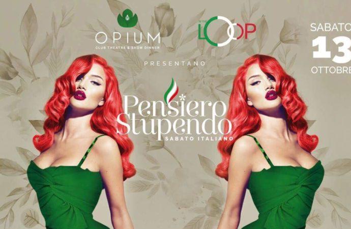 13/10 Pensiero Stupendo Opium Club Theatre & Show Dinner – Pordenone