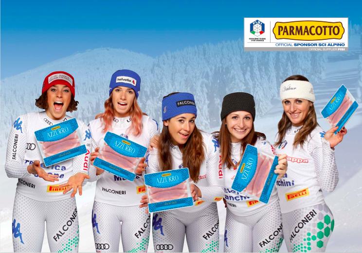 Parmacotto sponsor ufficiale delle Squadre Nazionali di Sci Alpino
