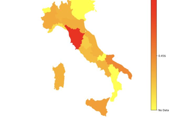 """L'""""espresso"""" simbolo dell'Italia nel mondo."""