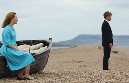 Saoirse Ronan e Billy Howle intensi interpreti del film  Chesil Beach