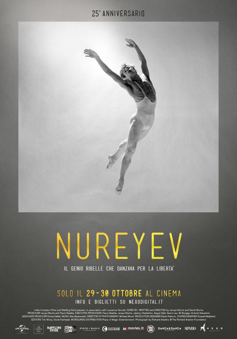 Nureyev, il biopic sul grande ballerino, distribuito nelle sale da Nexodigital