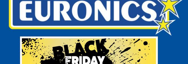 Da Euronics è in arrivo il Black Friday 2018!