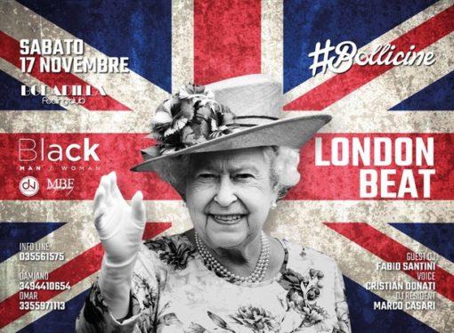 17/11 #Bollicine @ Bobadilla – Dalmine (BG): London Beat, per sentirsi a due passi dal Tamigi