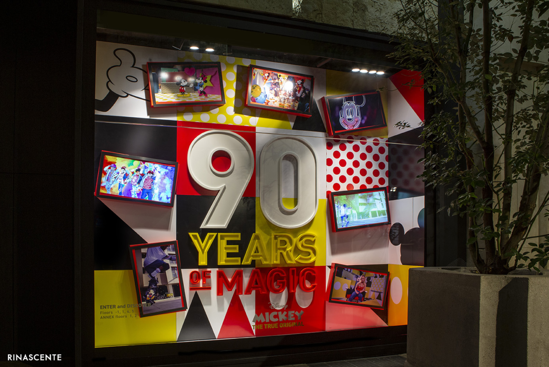 La Rinascente di Milano celebra i 90 anni di Topolino