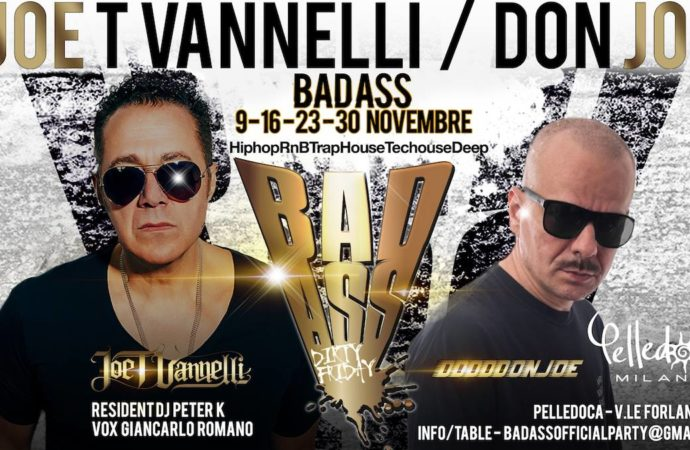 Joe T Vannelli / Don Joe: Badass @ Pelledoca Milano 9, 16, 23 e 30 novembre '18