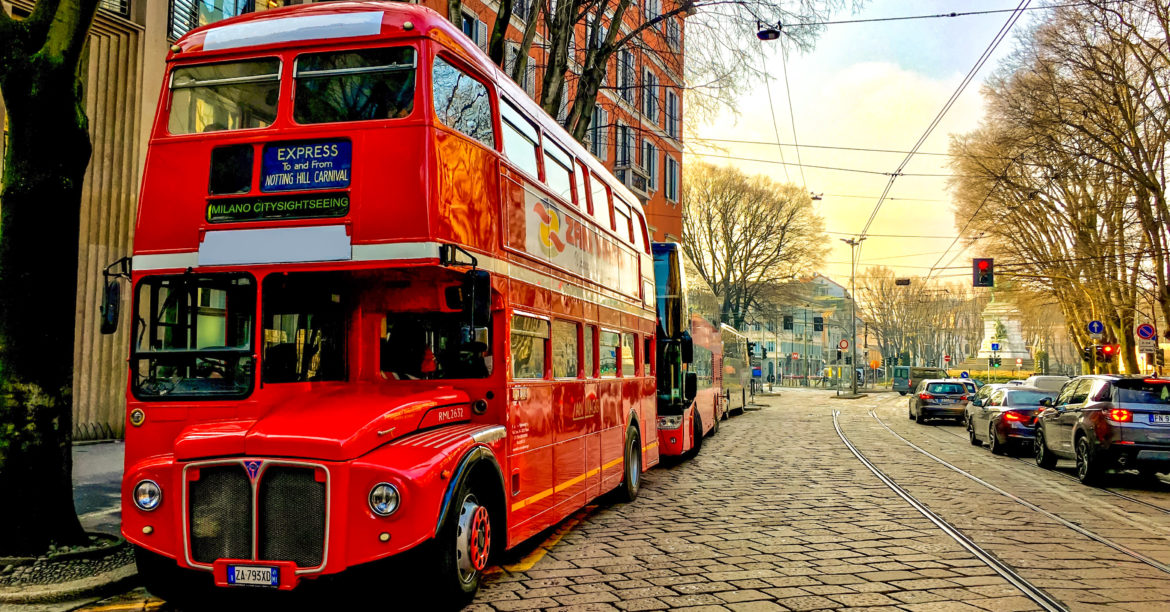 Imparare l'inglese a bordo del Christmas London Bus tour