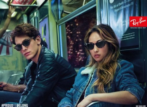 "Ray-Ban lancia la campagna ""Proud To Belong"""