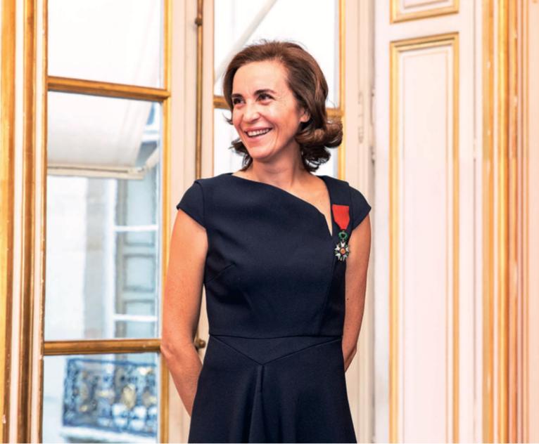 Mathilde Thomas, cofondatrice di Caudalie, riceve la Légion d'Honneur