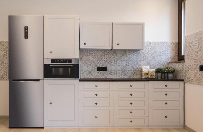 Una startup stampa cucine in cartone identiche a quelle vere.