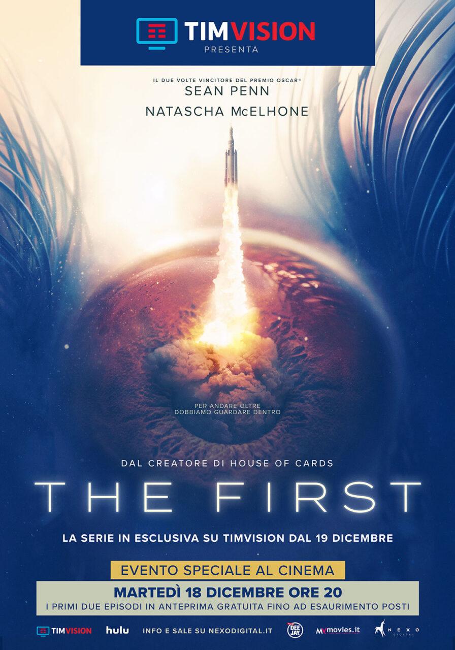 """In esclusiva su TIMVISIONdal 19 dicembre la serie evento """"THE FIRST"""""""