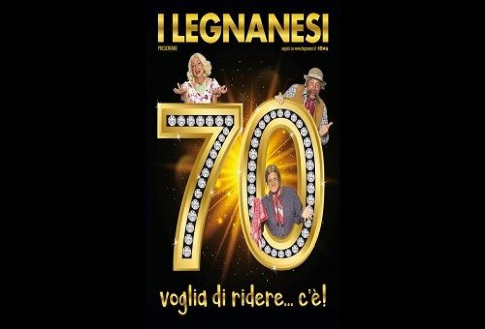 """I Legnanesi """"70 VOGLIA DI RIDERE... C'E'!"""" al Teatro della Luna dal 29 dicembre al 3 marzo"""
