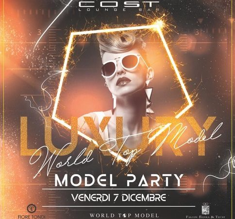 Cost – Milano: 6/12 Unconventional Thursday per sognare, 7/12 Luxury Model Party, per scoprire la nuova Grace Jones… e il Capodanno 2018 è Noblesse Oblige