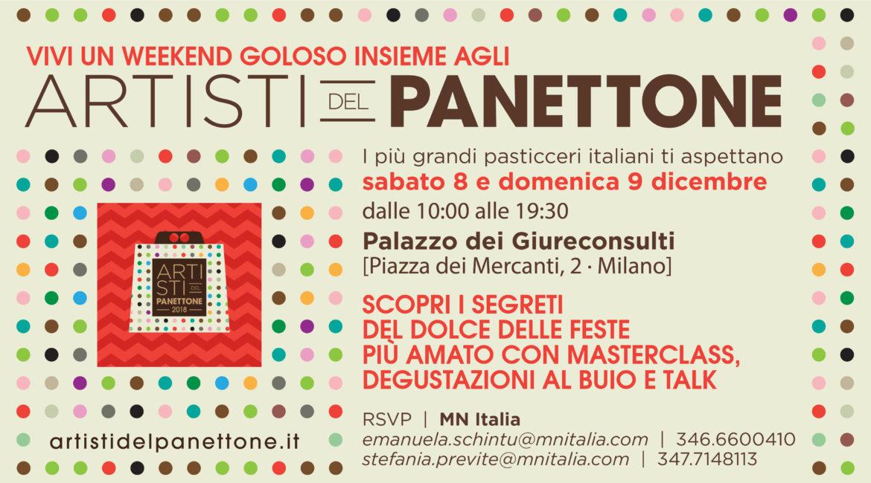 Artisti del Panettone a Milano, 8 e 9 dicembre