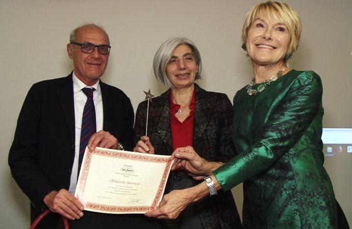 """Il Premio """"SO FARE"""" alla campionessa olimpionica Saccocci Graziana"""