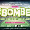 #Bomber Dress Code Football Player party fa ballare LIBE Winter Club – Como