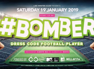 #Bomber Dress Code Football Player party fa ballare LIBE Winter Club – Como