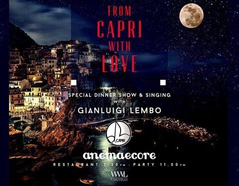 Just Cavalli Milano: 23/01 Wine Tasting Tenuta degli Dei, 25/1 From Capri with Love. E il 5/2 Chinese New Year Eve