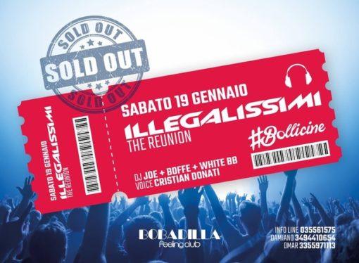 19/1 Illegalissimi The Reunion fa scatenare Bobadilla – Dalmine