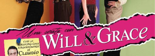 Una serata con Will & Grace al Teatro Nuovo di Milano dal 25 gennaio al 3 febbraio