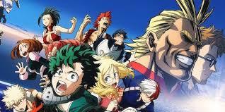 My Hero Academia al cinema il 23 e 24 marzo