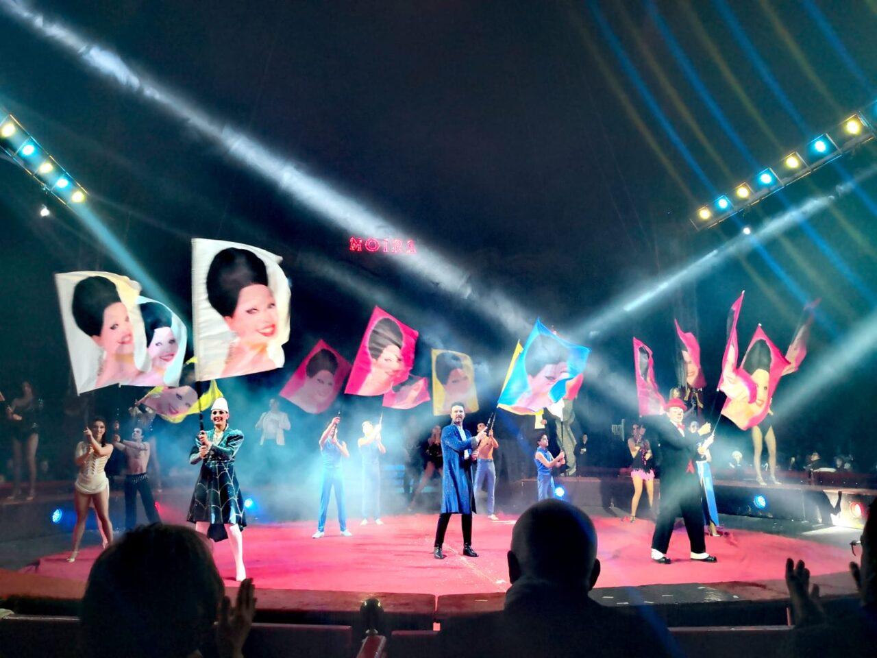 Presentato a Napoli il nuovo spettacolo del circo Moira Orfei nel segno della solidarietà