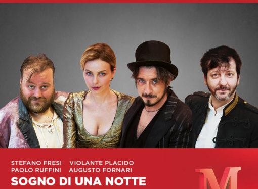 Al Teatro Manzoni 'Sogno di una notte di mezza estate' di Shakespeare