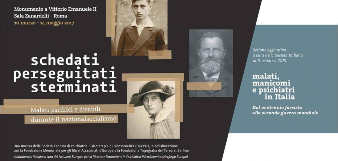 Al Palazzo di Giustizia di Milano chiude tra pochi giorni la mostra dedicata a malati psichici e disabili durante nazismo e fascismo