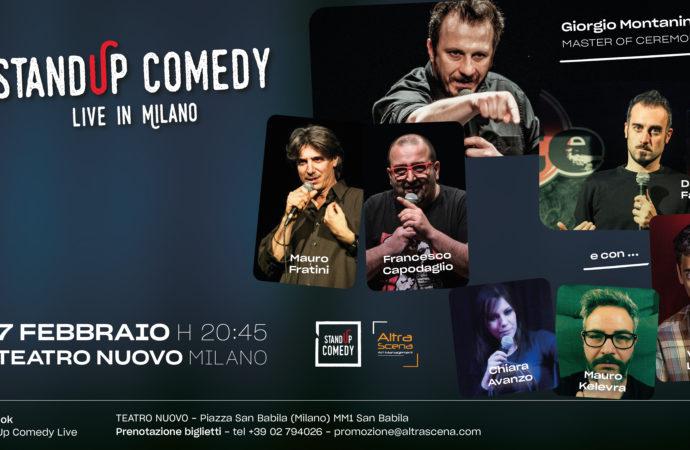 Stand up comedy live al Teatro Nuovo, per ridere dei nostri luoghi comuni