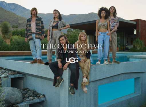 Nuova campagna marketing UGG® Collective per la Primavera/Estate 2019, con l'attore McCaul Lombardi