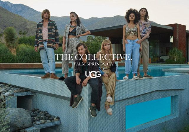 Nuova campagna marketing UGG® Collective per la Primavera/Estate 2019, con l'attore McCaul Lombardi