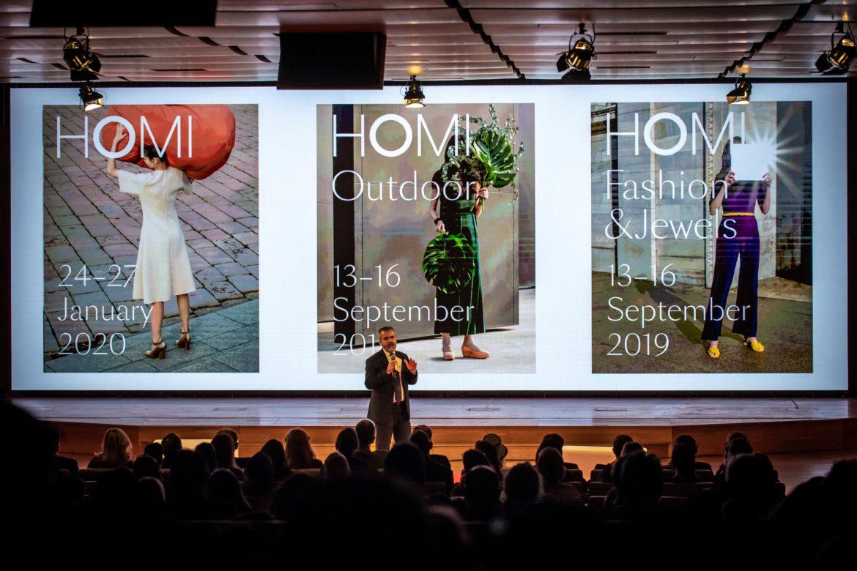 Homi evolve: nascono tre appuntamenti dedicati al mondo della casa, del bijoux e dell'outdoor