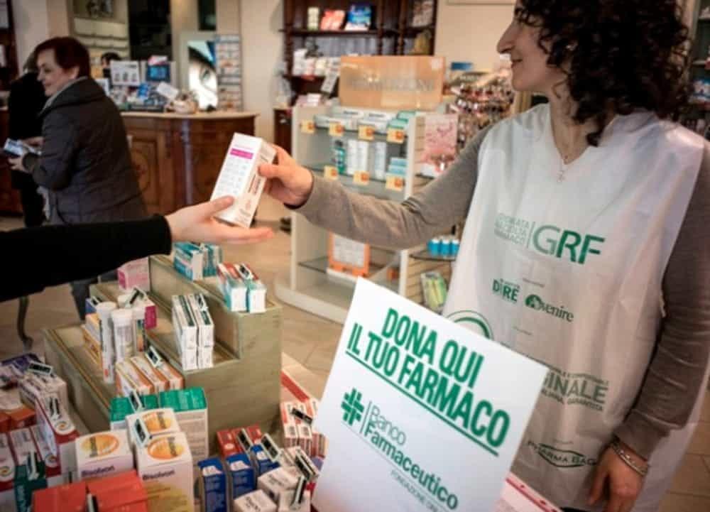 Una giornata charity? 9 febbraio Giornata di Raccolta del Farmaco
