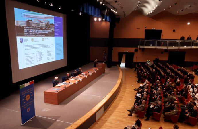 Prima Tavola Rotonda Internazionale per la Pace nel Mediterraneo   Situazione e  Prospettive