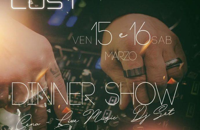 Cost Milano: dj set e dinner show il 15 e il 16 marzo
