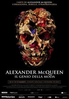 In Sala Biografilm  a Milano e Bologna il biopic Alexander McQueen-Il Genio della Moda