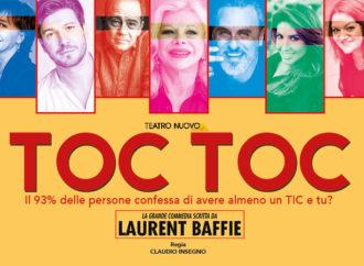 Al Teatro Nuovo l'esilarante commedia Toc Toc