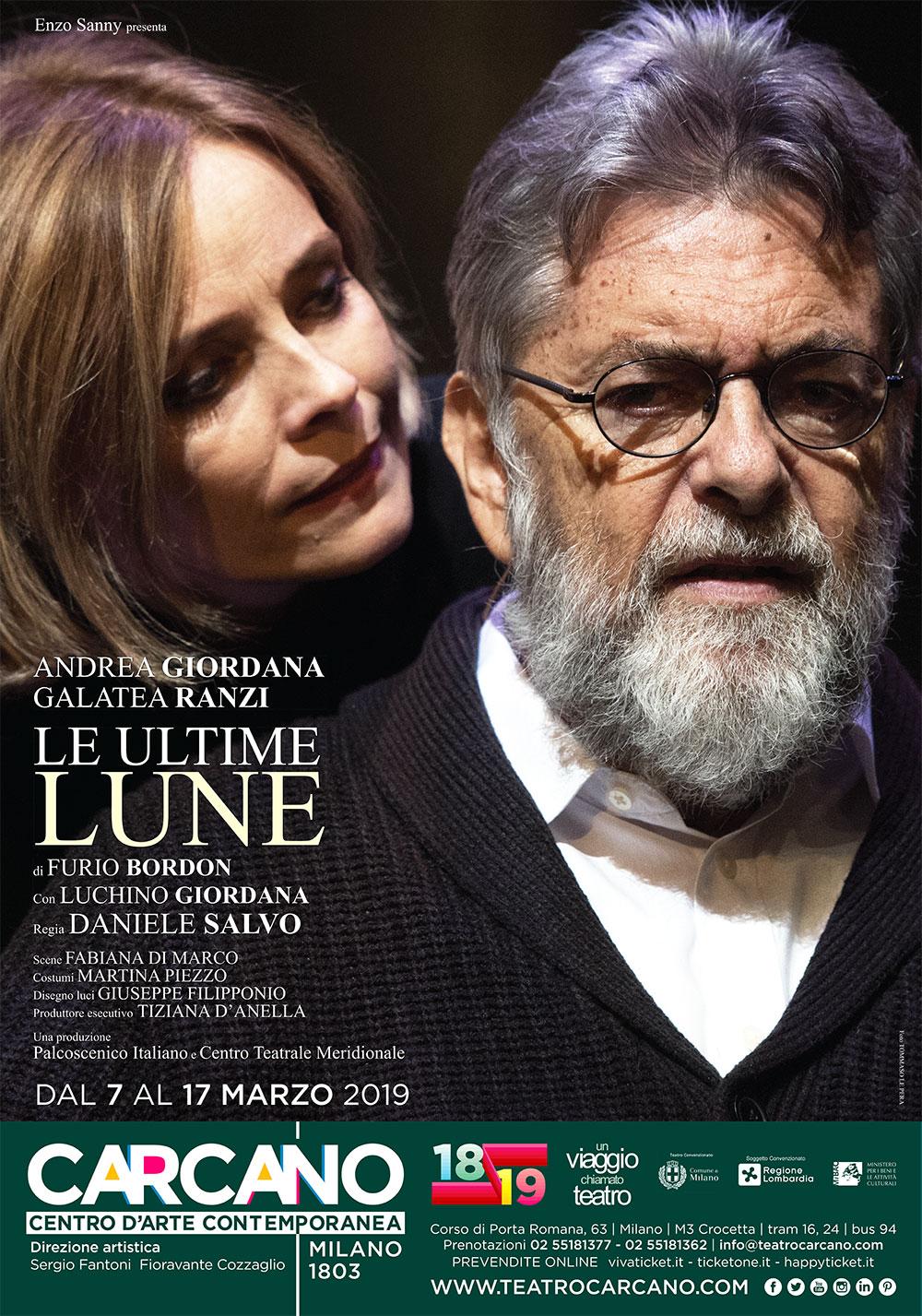 Al Teatro Carcano Le ultime lune, una commedia che fa riflettere sul senso della vita