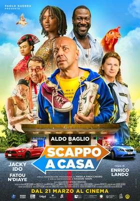 Nuovo ruolo solitario di Aldo Baglio nel film Scappo a casa