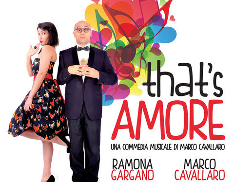 All'Eco Teatro di Milano Marco Cavallaro in THAT'S AMORE