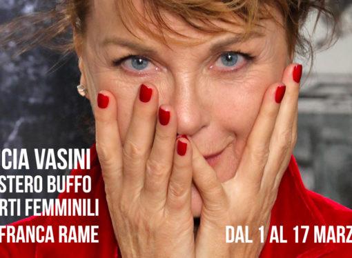 Al Teatro Menotti Mistero Buffo di Dario Fo e Franca Rame con l'interpretazione di Lucia Vasini