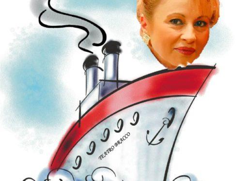 La nave del Teatro Bracco naviga nel Golfo di Napoli