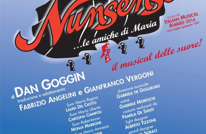 Al Teatro Nuovo il musical di successo NUNSENSE -13 e 14 marzo