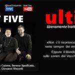 "Al Teatro San Babila ""Ultimi"" dei Beat Five"