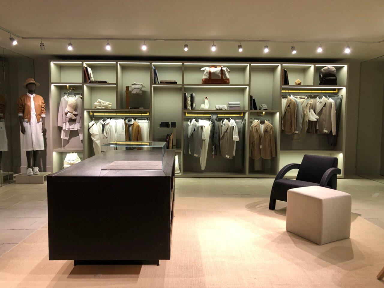 Inaugurata la nuova boutique Eleventy ad Anacapri