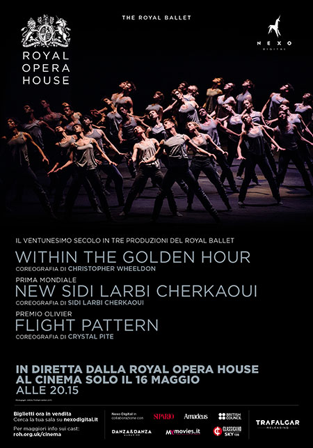 Il balletto Triple Bill nei cinema italiani in diretta via satellite dalla Royal Opera House