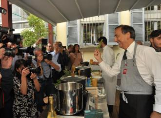 Il genio visionario di Leonardo, gastronomia e charity al Milano Food City 2019