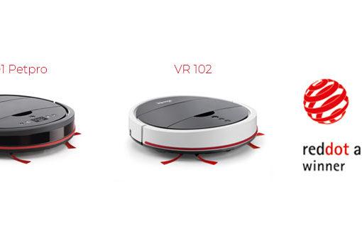 Assegnato ai nuovi robot Vileda  il Red Dot Award 2019 – settore Product Design