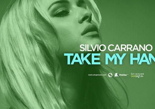 Silvio Carrano, si balla con Take my Hand (Pink Star – Sirup)